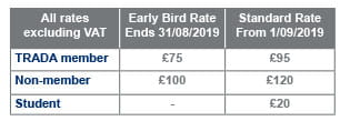 Better Timber Buildings Conference Price List