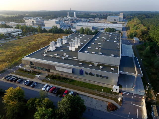 Rolls-Royce Kompetenzzentrum in Dahlewitz bei Berlin