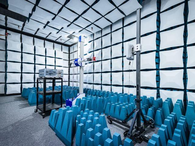 CPE基站设备的5G毫米波射频测试