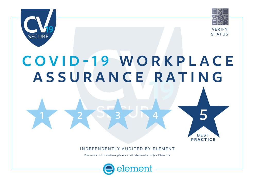 CV19 secure certificate