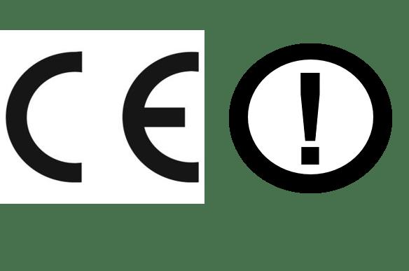CE Mark with Alert