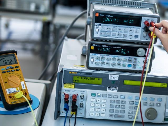 Kalibrierung und messtechnische Dienstleistungen