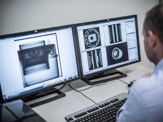 digital radiography testing