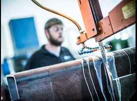 manufacturing and fabrication testing