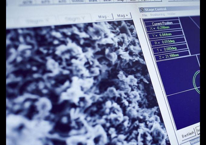 Micrographic Metallography 640 x 480