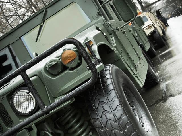 Military Vehicle EMC Chamber