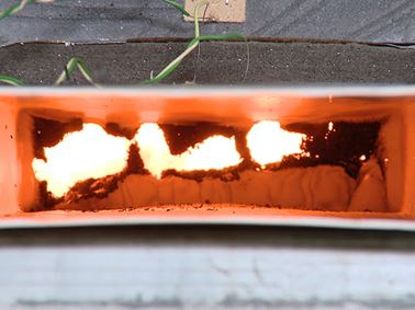 Fire resistance duct testing