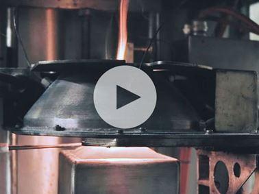 ISO 5660 Cone calorimeter test